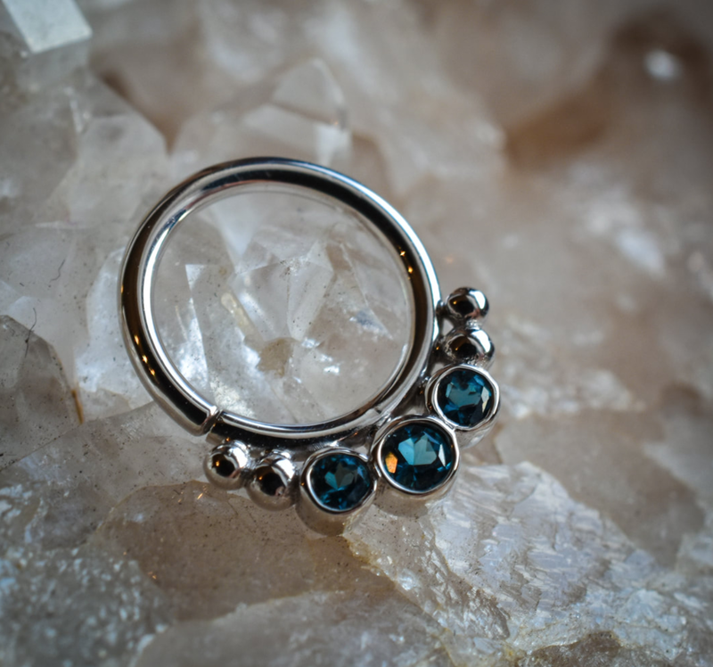 Black Hole Body Piercing jewelry